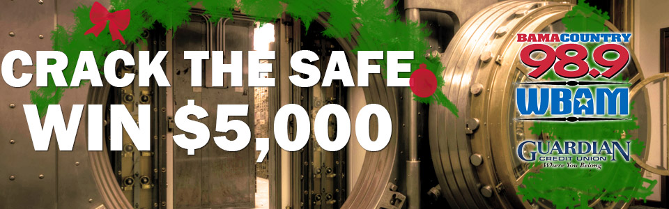 Crack the Safe and win $5,000!