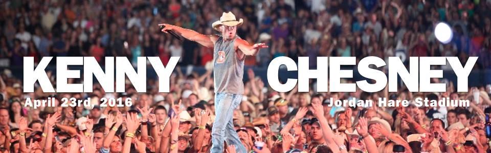 Kenny Chesney Concert at Jordan Hare Stadium April 23