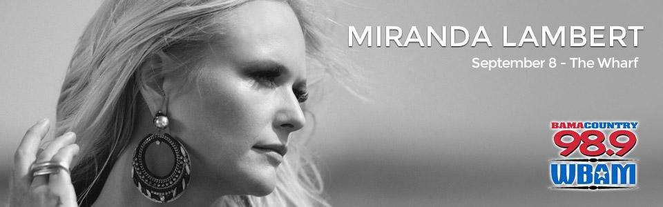 Miranda Lambert at The Wharf on September 8