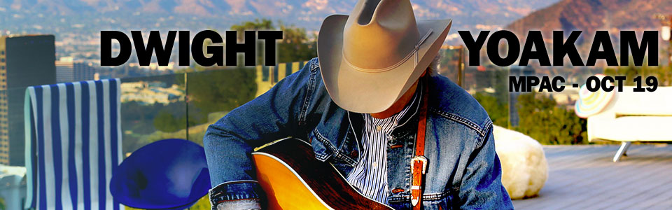 Dwight Yoakam at the MPAC on October 19