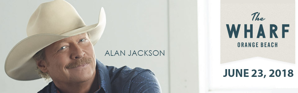 Alan Jackson at The Wharf in Orange Beach on June 23