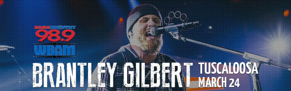 Brantley Gilbert Concert in Tuscaloosa on March 24