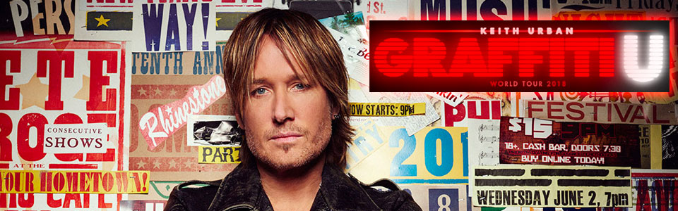 Keith Urban Graffiti U World Tour