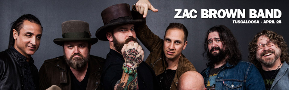 Zac Brown Band in Tuscaloosa April 25