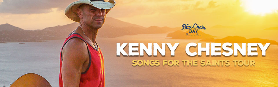 Kenny Chesney at The Wharf on April 27