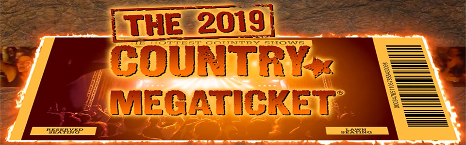 Oak Mountain Amphitheater Country Megaticket