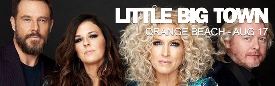 Little Big Town at The Wharf in Orange Beach on August 17