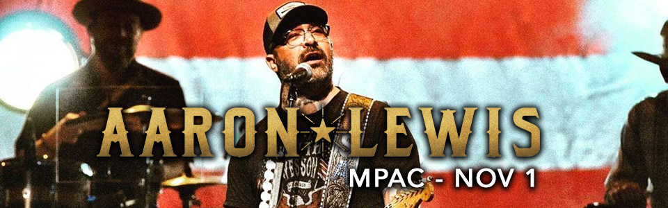 Aaron Lewis at the MPAC on November 1