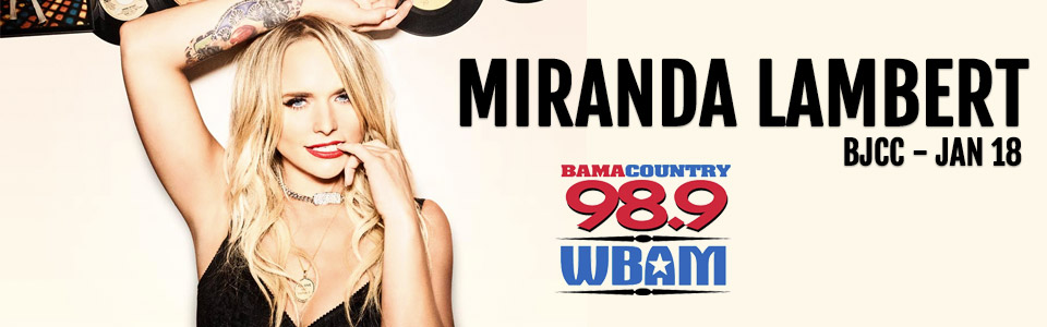 Miranda Lambert at the BJCC on January 18