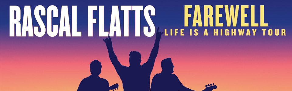 Rascal Flatts at the Oak Mountain Amphitheater on August 22