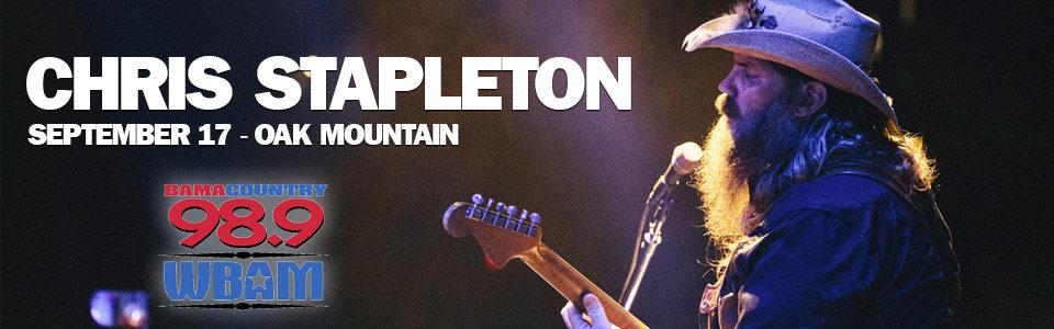 Chris Stapleton at the Oak Mountain Amphitheater September 17